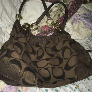 Coach authentic purse
